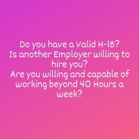 An H-1B Holder can work for any number of Hours with any number of Employers